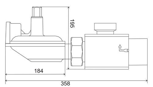 Регуляторы давления газа GS 64-22, GS 72-27, GS 74-27H